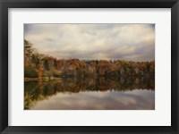 Autumn At Lake LaJoie 1 Framed Print