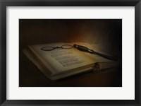 Framed Evening Reading