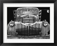 Framed Chev 4 Sale - Black and White