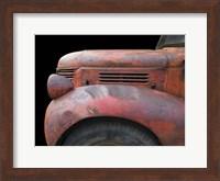 Framed Fargo Red