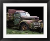 Framed Mac's Trucking GMC