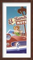 Framed El Rancho