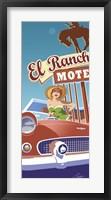 El Rancho Framed Print
