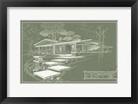 Framed 301 Cypress Dr. Moss - Inverse