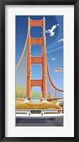 Framed Golden Gate