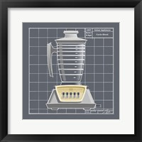 Galaxy Blender - Pewter Framed Print