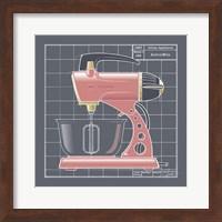 Framed Galaxy Mixer - Flamingo