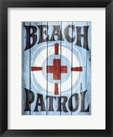 Framed Beach Patrol