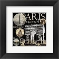 Framed Metro Paris Ii