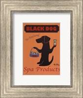 Framed Black Dog Spa Products