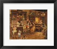Framed Turn of the Century Drug Store