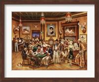 Framed Western Saloon