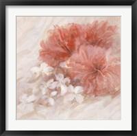 Framed Hibiscus I