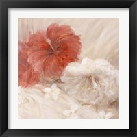 Framed Hibiscus III