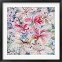 Lily Patch Framed Print