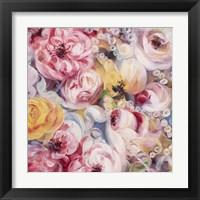 Framed Swirly Bouquet