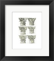 Framed English Architectural VI