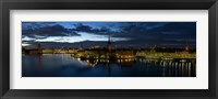 Framed Stockholm by Night