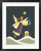 Framed Angel with a Lantern