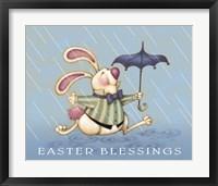 Framed Rain Bunny