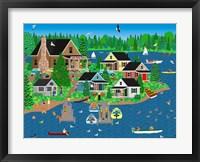 Framed Lake Point Resort