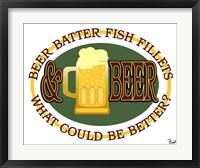 Framed Beer Batter Fish Fillets