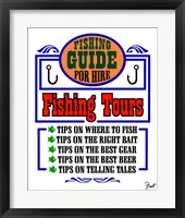 Framed Fishing Tours
