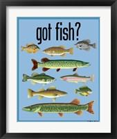 Framed Got Fish