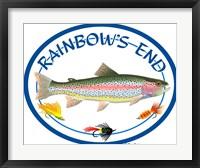 Rainbow's End Framed Print