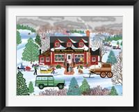 Framed Warming House