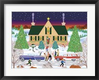 Framed Christmas Eve At Gramma's