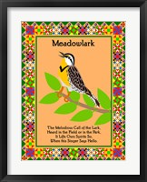 Framed Meadowlark Quilt
