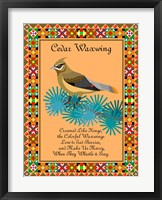 Framed Waxwing Quilt