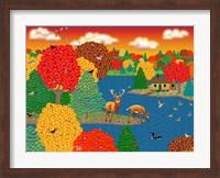 Framed Deer Lake