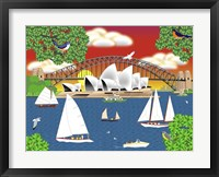 Dream of Sydney Framed Print
