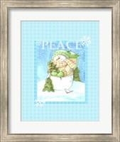 Framed Snowman Joy