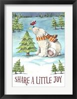 Framed Share A Little Joy