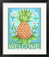 Framed Pineapple Welcome