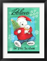 Framed Polar Believe