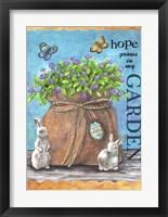 Framed Hope Garden