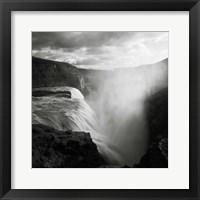 Framed Iceland Gullfoss