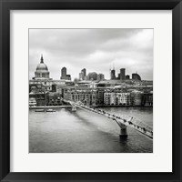 Framed London Millenium Bridge