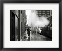 Framed NYC Rain