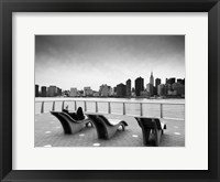 NYC Relax Framed Print