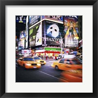 Framed NYC Taxi Taxi