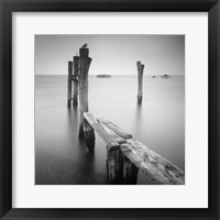 Venice Path Framed Print