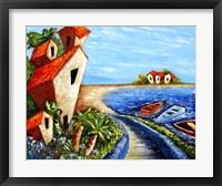 Framed Ocean Village