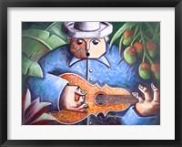Framed Musician I