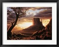 Framed Southwest Sun