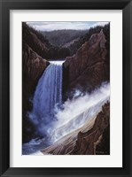 Framed Voice Of Yellowstone